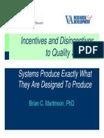 Brian Martinson ILAR Presentation