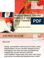 MIDDLE RANGE THEORY SELF TRANSCENDENCE