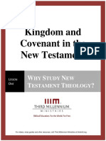 Kingdom and Covenant in the New Testament - Lesson 1 - Transcript