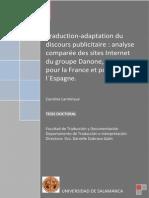 Carmine Larminaux -Traduction-Adaption Du Discours Publicitaire