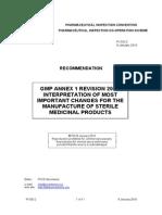 Gmp Annex 1 Revision 2008,