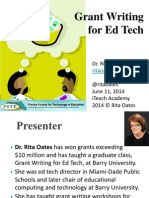 Grant Writing for Ed Tech