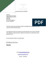Carta Comercial 3