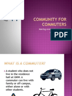 Community for Commuters 2014
