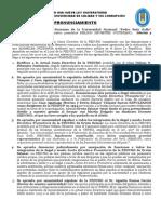 Pronunciamiento Fedurg (11 de Junio 2014)