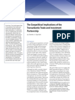 The Geopolitical Implications of the Transatlantic Trade and Investment Partnership