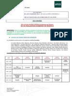 Calendario Febrero 2014 Centros Nacionales Acceso 25 y 45