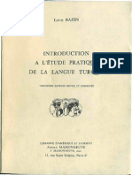 Louis Bazin_Introduction +á l'+¬tude pratique de la langue turque [1994]