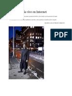 La vanguardia vive en Internet. Entrevista a Kenneth Goldsmith por Eduardo Lago. ElPais 15 02 2014