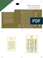 Finanzas Publicas Para El Desarrollo -Portada