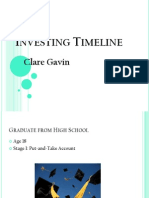 investing timeline