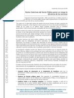 Postura 15 - Comunicado de Prensa