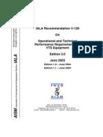 IALA Reccomendation