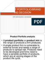 Portfolio Brand