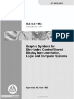 ISA 5.3 Graphic Symbols for Distributed Control Shared Display Instrumentation, Logic & Computer Systems