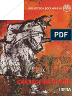 Cosbuc George - Cantece de Vitejie (Tabel Crono)