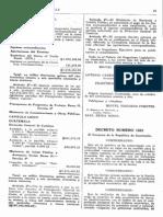 Ley de Transformación Agraria. Decreto 1551