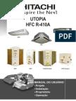 01 - IHMUS-RPCAR001 - Split Média e Baixa Capacidade (Utopia) - Cond Ar (18.000 a 60.000)