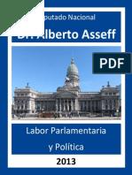 Anuario Parlamentario 2013 Alberto Asseff