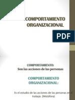 2. COMPORTAMIENTO ORGANIZACIONAL