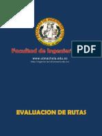 Evaluacion de Rutas y Linea de Pendieta 2014