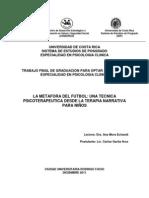 Terapia Narrativas Niños Fútbol