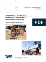 Design and Construction of Driven Pile Foundations VolumeI