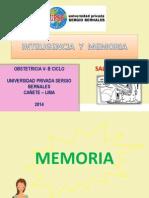 Inteligencia y Memoria