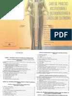 Ghid de Practici Instituţionale În Instrumentarea Cauzelor Cu Minori - A.duble,N.Ştefăroi,S.luca,G.gafta,R.moisescu,L.mursa,C.luca,C.scripcaru,D.puşcaşu,M.vlad - 2005