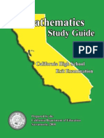 Math Study Guide 08