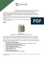 Ceragon - RF Units - PDF