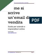 Come scrivere Email di Vendita