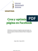 Crea y Optimiza Tu Pagina de Facebook Por Graphsa