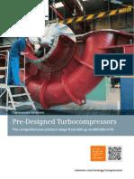 Pre-Designed Turbocompressors Blowers