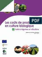 Les Coûts de Production en Agriculture Biologique 2010