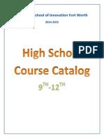 high school course catalog 14-15 1