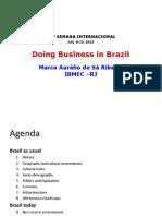 Doing Business in Brazil - ESAN 2013 - Lima - Peru