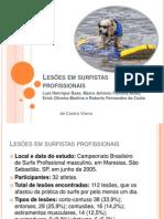 Lesões Em Surfistas Profissionais