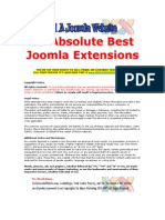 59 Absolute Best Joomla Extensions