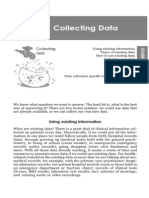 Small-scale evaluation in health. Cap.06 Collecting data