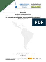 PONENCIAS PTC Analizados Desde Un EDDHH