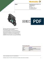 Weidmuller Surge Protector 1064700000 VSSC6 GDT 110VAC DC20kA En