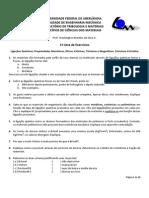 PCM_Lista de Exercícios 1_Ligacoes Propriedades Estrutura_2013a