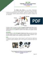WF-750 Limpiador de Bandas Para Frenos Concentrado