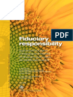 Fiduciary Responsibility Legal and Practical Aspects of Integrating Environmental, Social and Governance Issues Into Institutional Investmen UNEPfi 2009