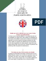 12 Secrets Pour Apprendre Plus Vite Anglais