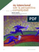 El Cambio Intencional Desde La Perspectiva de La Complejidad (ICT) R.boyatzis