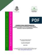 Candidaturas independientes  CDIP