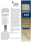 nssa course brochure