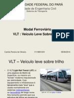 VLT Apresentação
